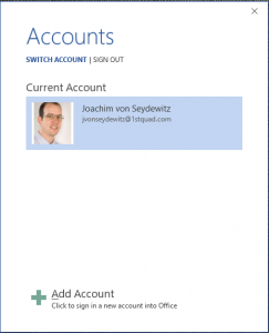 Microsoft Sharepoint Information Rights Management Accounts